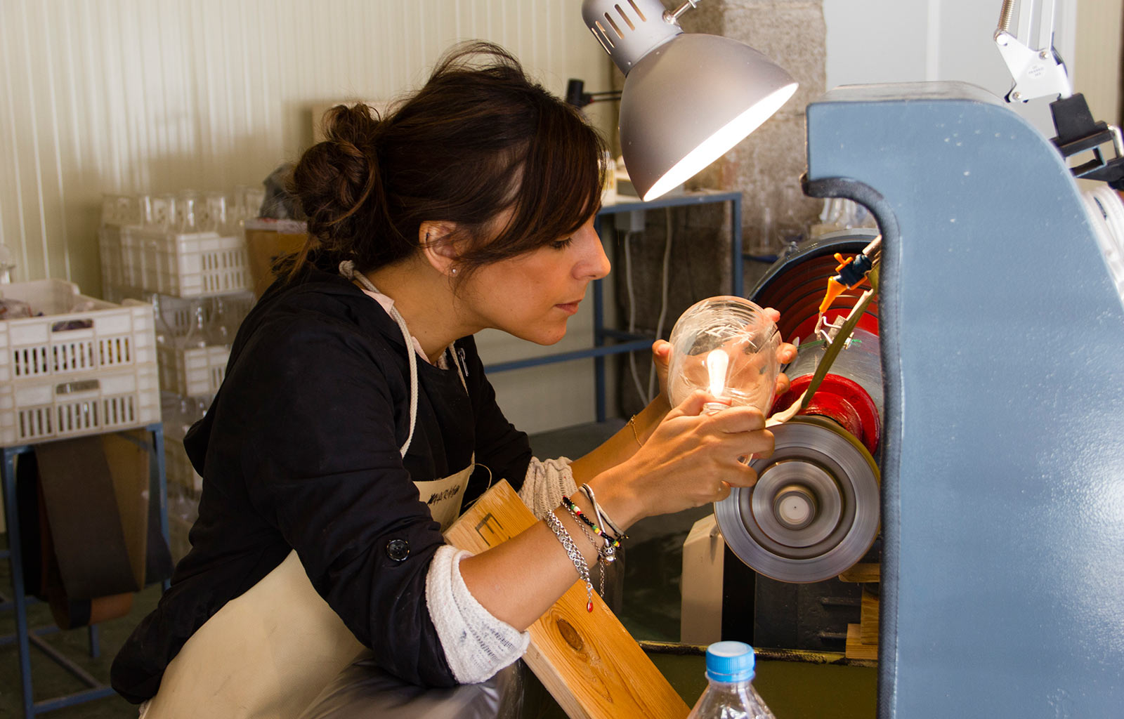 Glass Workshop en La Granja