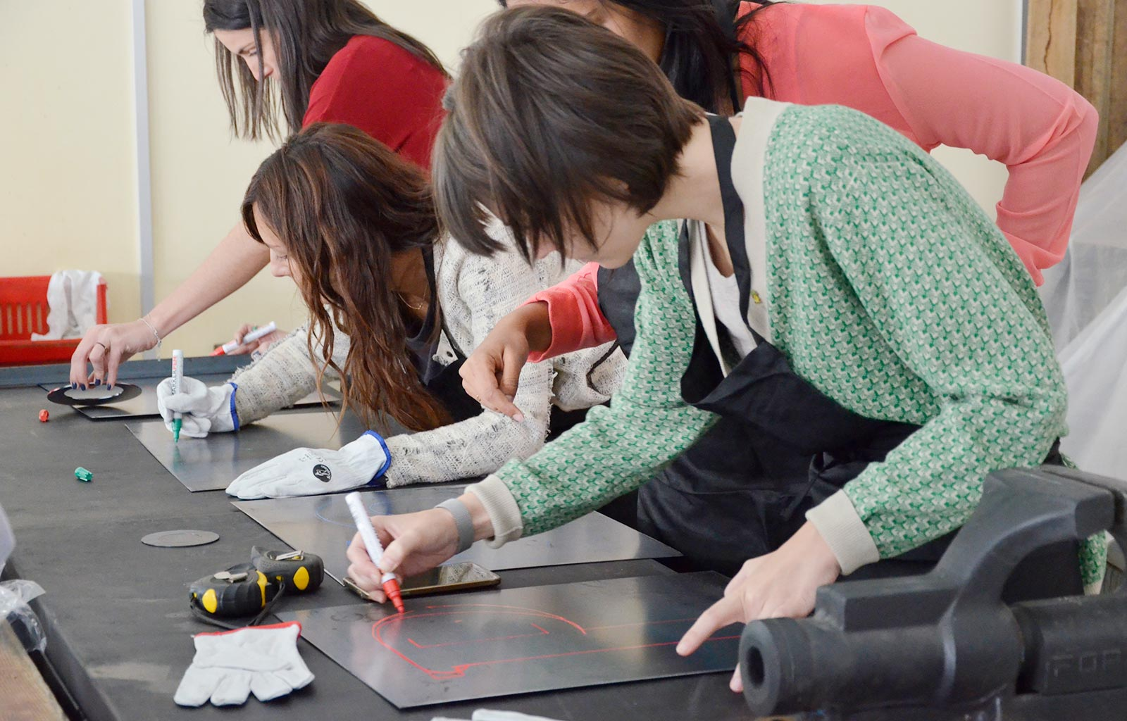 Workshop de Metales en el Taller de Kikekeller
