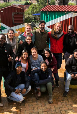 Trip to South Africa of the Masters of Design and Innovation 2018