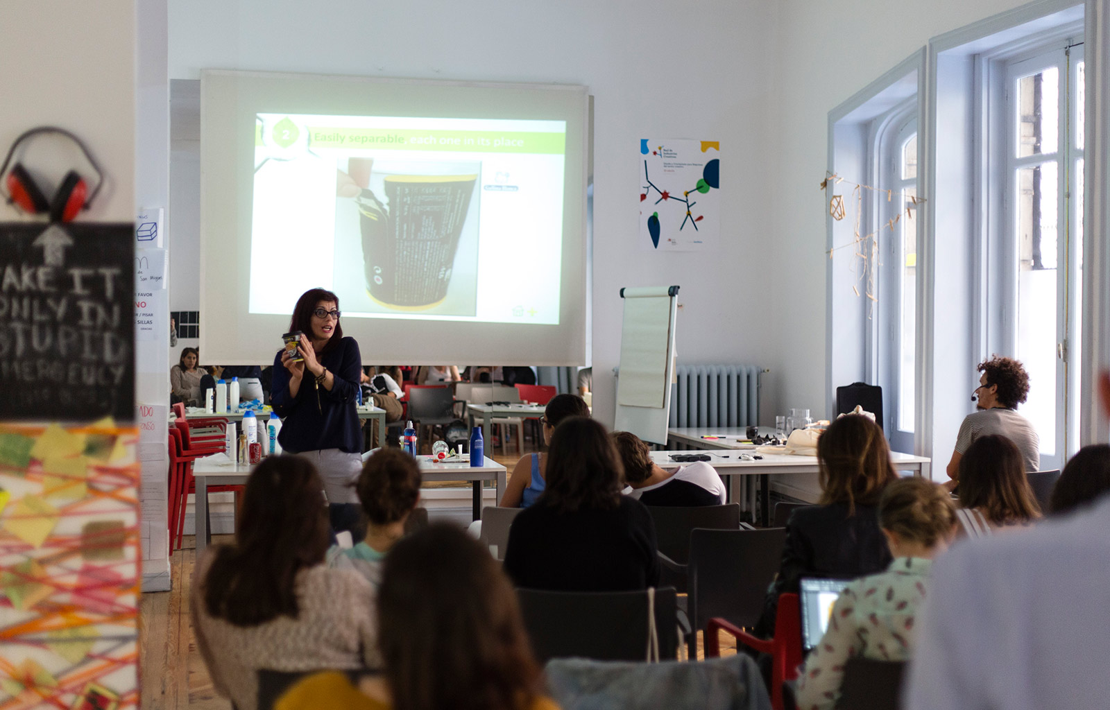 Workshop with Ecoembes