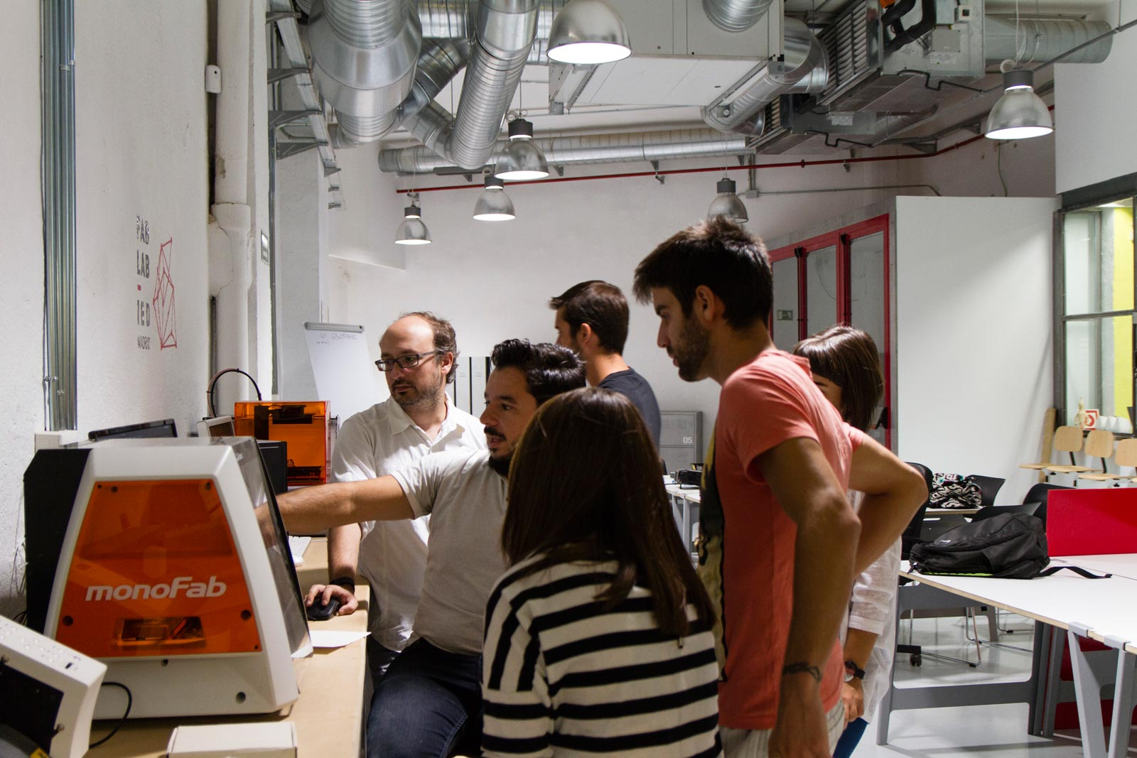 Fab Lab - Machinery Course
