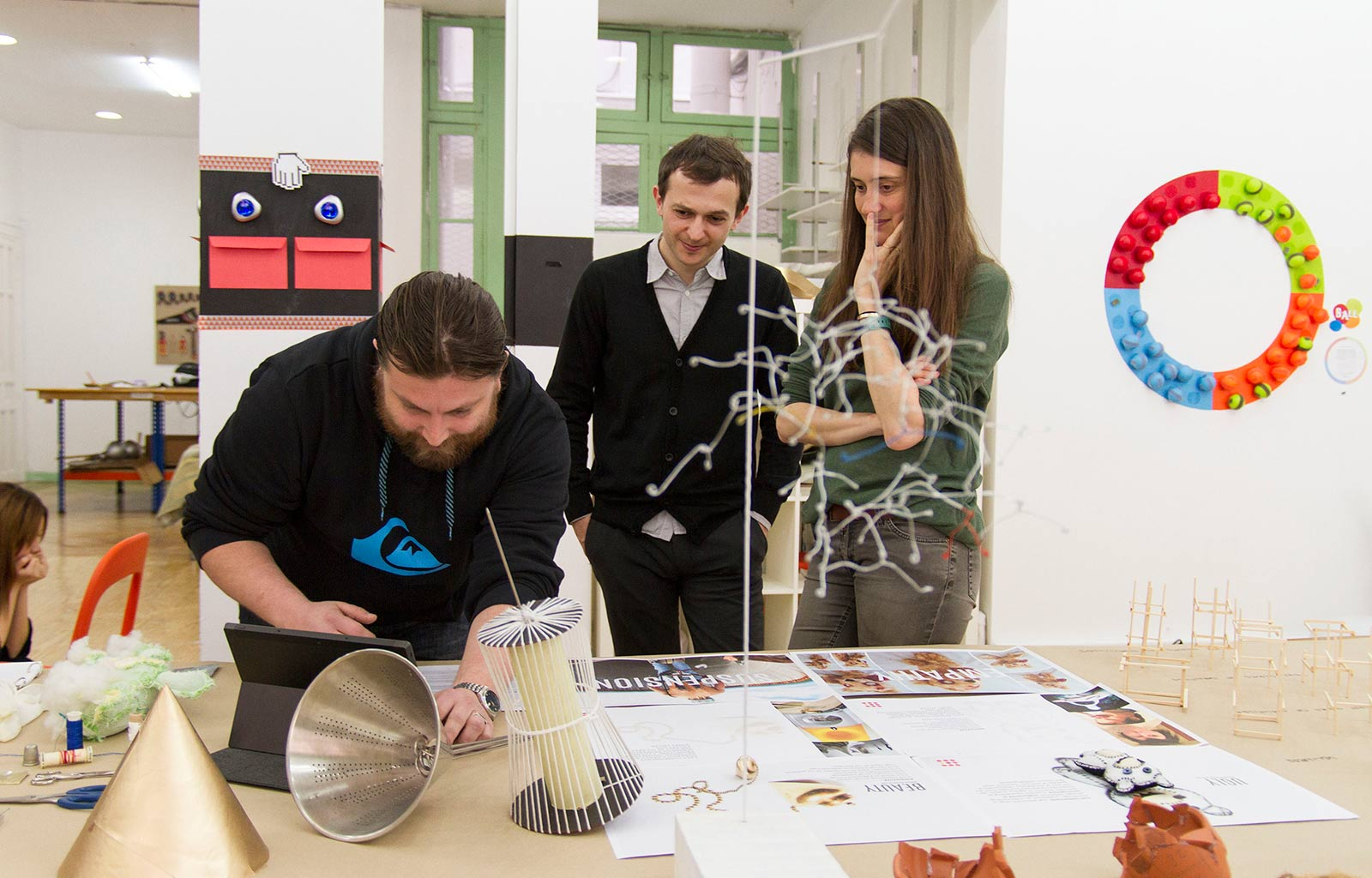 Moments and Experiences of the Master of European Design Labs
