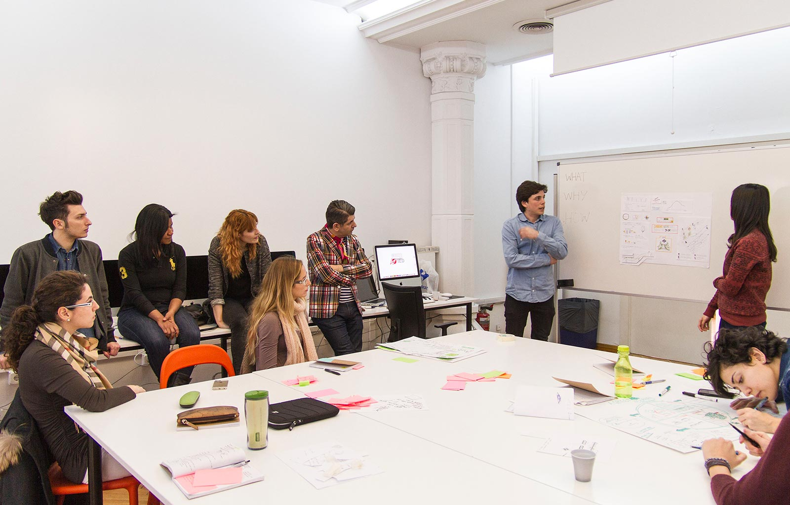 Moments and Experiences of the Master of Product Design Labs