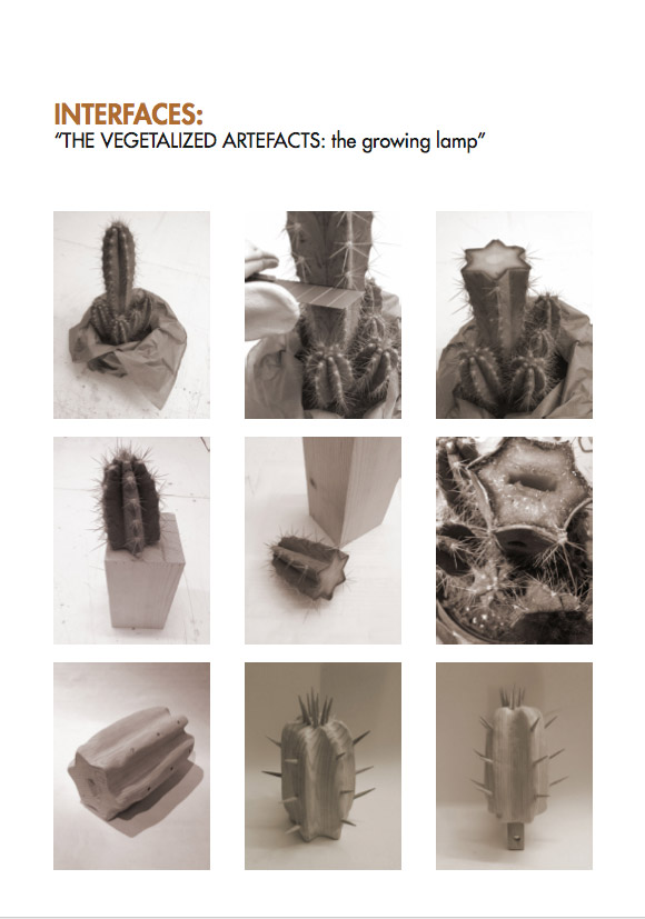 """""""The Vegetalized Artefacts"""" Project by Marzia Fattorini"""