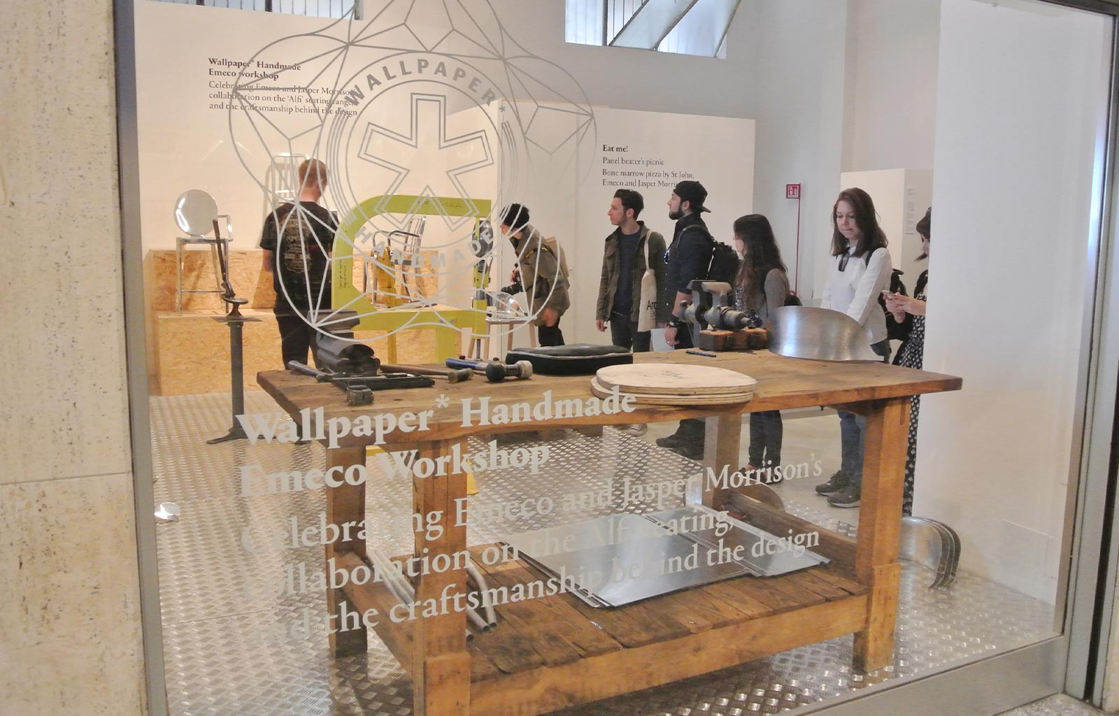 European and Product Design Labs 2015 at Wallpaper's Exhibition in Milan