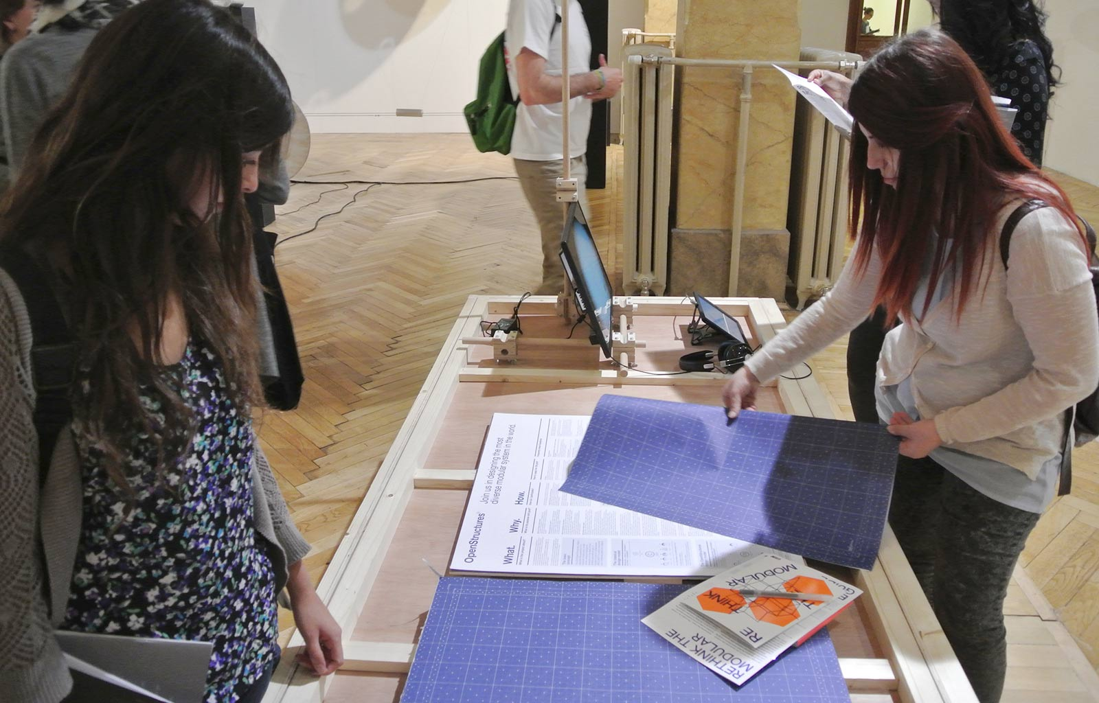 """European and Product Design Labs 2015 at """"Rethink the Modular"""" Exhibition in Milan"""